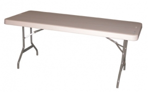 Mesa plegable de 120cm de largo